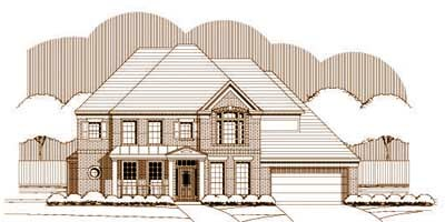 Traditional Style Floor Plans Plan: 19-1486