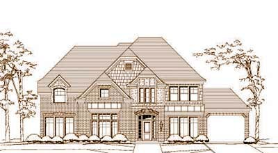 Traditional Style Home Design Plan: 19-1487