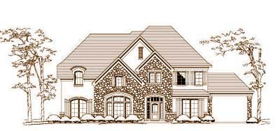 Traditional Style House Plans Plan: 19-1488