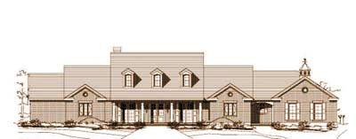 Country Style House Plans Plan: 19-1497