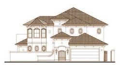 Mediterranean Style Floor Plans Plan: 19-1503