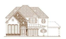 French-Country Style Floor Plans Plan: 19-1512