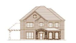 French-Country Style House Plans Plan: 19-1519