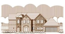 French-Country Style Home Design Plan: 19-1535