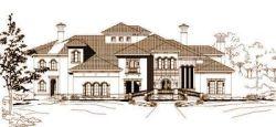 Mediterranean Style Floor Plans Plan: 19-155