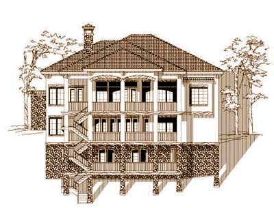 Craftsman Style House Plans Plan: 19-1553