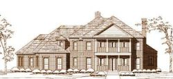 Colonial Style Floor Plans Plan: 19-1558