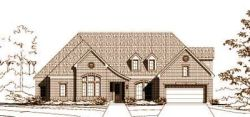 French-Country Style Home Design Plan: 19-1578