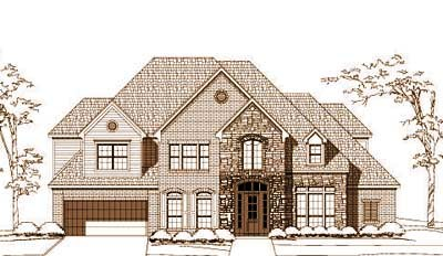 Traditional Style House Plans Plan: 19-1583