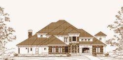 Mediterranean Style House Plans Plan: 19-1593