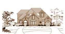 Traditional Style Home Design Plan: 19-1608