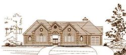 Traditional Style Home Design Plan: 19-1612