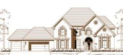 Traditional Style Home Design Plan: 19-1615