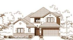 Tuscan Style Home Design Plan: 19-1624