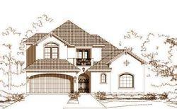 Mediterranean Style Home Design Plan: 19-1628