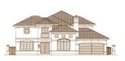 Mediterranean Style House Plans Plan: 19-1654