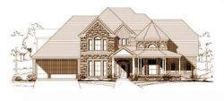 Country Style House Plans Plan: 19-166