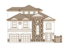 Tuscan Style House Plans Plan: 19-1666