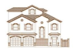 Tuscan Style House Plans Plan: 19-1667