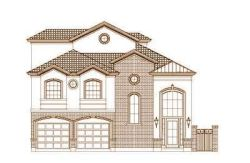 Traditional Style Home Design Plan: 19-1668