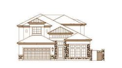 Tuscan Style Home Design Plan: 19-1670
