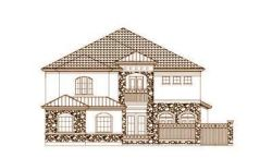 Tuscan Style House Plans Plan: 19-1674