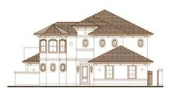 Mediterranean Style House Plans Plan: 19-1689