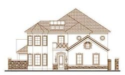 Tuscan Style Floor Plans Plan: 19-1691