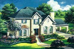 Traditional Style House Plans Plan: 19-1728