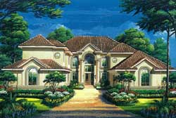Traditional Style Home Design Plan: 19-1752