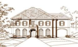 Traditional Style Home Design Plan: 19-176