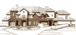 Tuscan Style Floor Plans Plan: 19-177