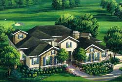 Traditional Style Floor Plans Plan: 19-1774