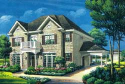 Colonial Style House Plans Plan: 19-1778