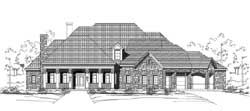 Country Style House Plans Plan: 19-1799