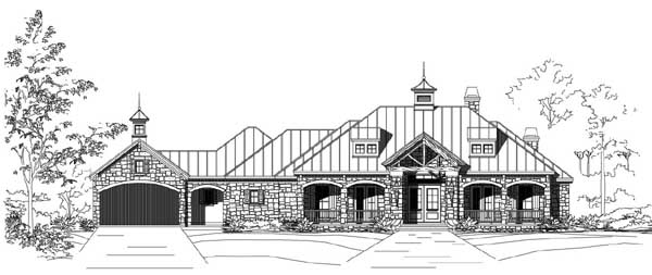 Country Style House Plans Plan: 19-1803