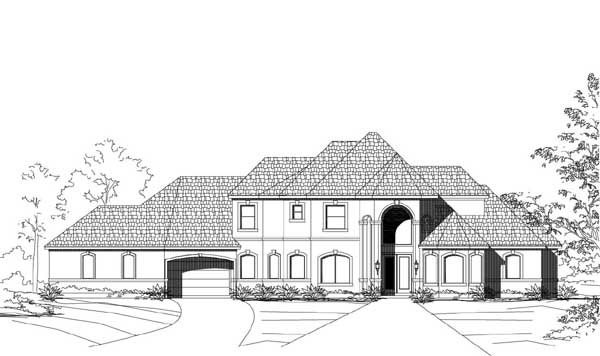 Traditional Style House Plans Plan: 19-1828
