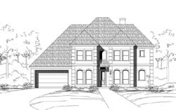 Mediterranean Style House Plans Plan: 19-1841