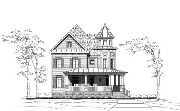 Victorian Style Floor Plans Plan: 19-1843