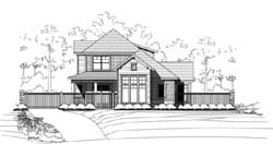Craftsman Style House Plans Plan: 19-1851