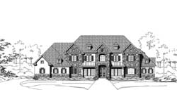 Tuscan Style House Plans Plan: 19-1853