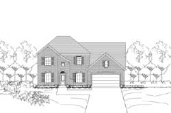 Traditional Style Floor Plans Plan: 19-1873