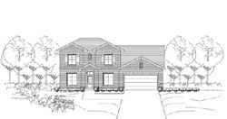 Traditional Style House Plans Plan: 19-1874