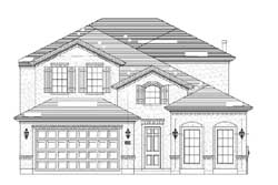 Tuscan Style House Plans Plan: 19-1876