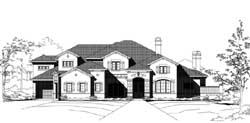Mediterranean Style House Plans Plan: 19-1880