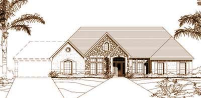 Traditional Style House Plans Plan: 19-198