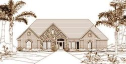 Traditional Style Home Design Plan: 19-199