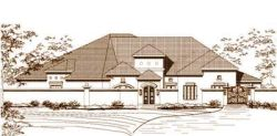 Mediterranean Style House Plans Plan: 19-206