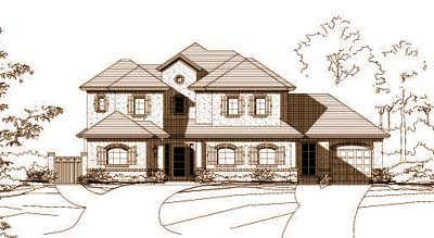 French-country Style House Plans Plan: 19-207