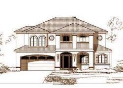 Florida Style House Plans Plan: 19-213